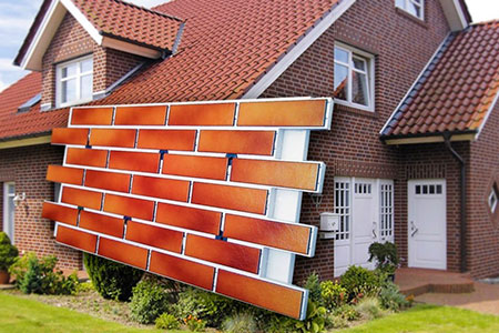 Утепление фасада типа мокрый фасад